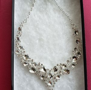 Sale$$  Mariell Crystal Necklace